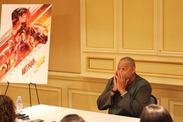Laurence Fisburne - Ant-Man and The Wasp Interview
