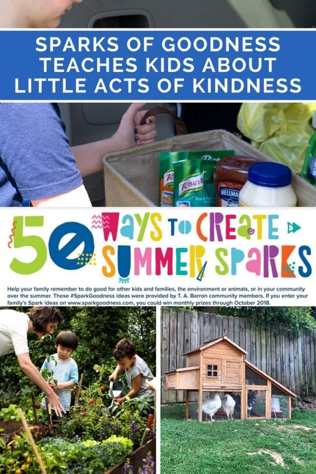 Sparks of Goodness Teaches Kids About Little Acts of Kindness