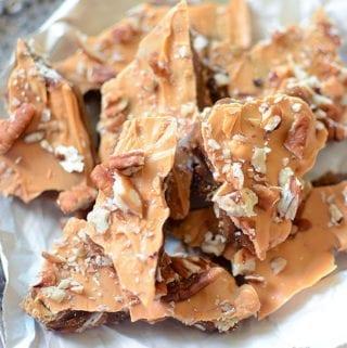 Butterscotch Pecan Toffee Crunch