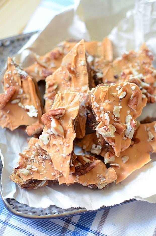 Butterscotch Pecan Toffee Crunch