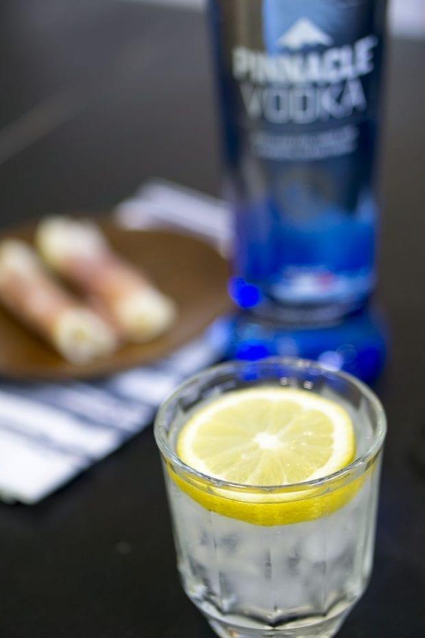 Pinnacle Vodka and Lemonade