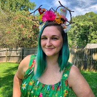 DIY Enchanted Tiki Room Mickey Ears