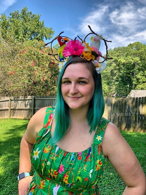 Enchanted Tiki Room Dress and Ears