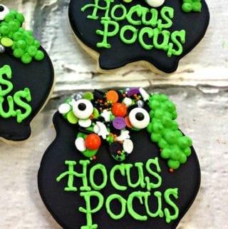 Hocus Pocus Sugar Cookies