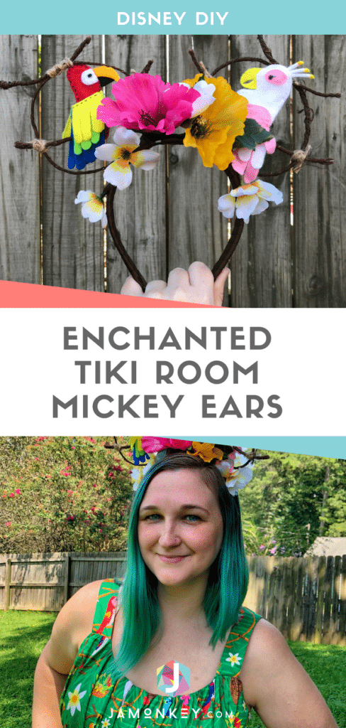 Disney DIY Enchanted Tiki Mickey Ears