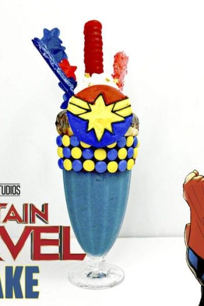 Captain Marvel Extreme Shake