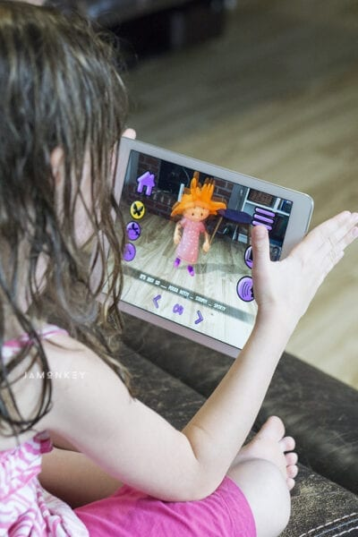 Lizzy's World Augmented Reality