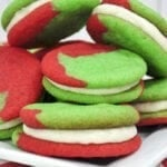 The Grinch Sandwich Cookies