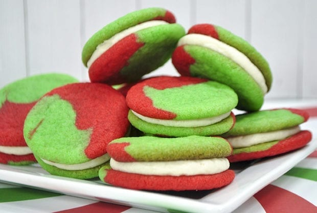 The Grinch Holiday Sandwich Cookies Jamonkey