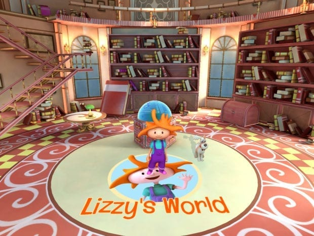 Lizzy's World AR App
