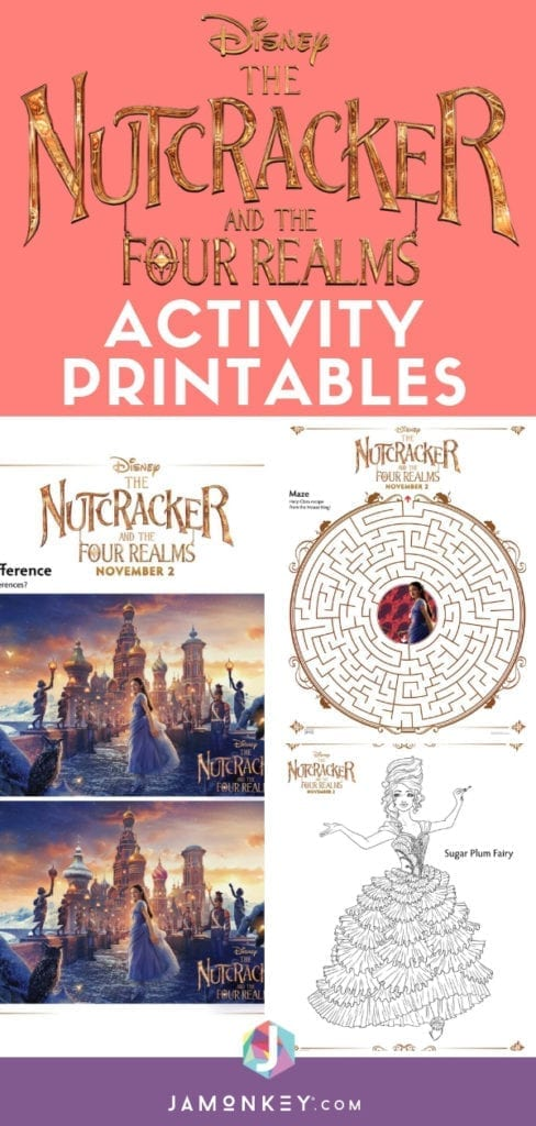 The Nutcracker and the Four Realms Activity Printables