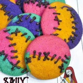 Nightmare Before Christmas Sally Cookies