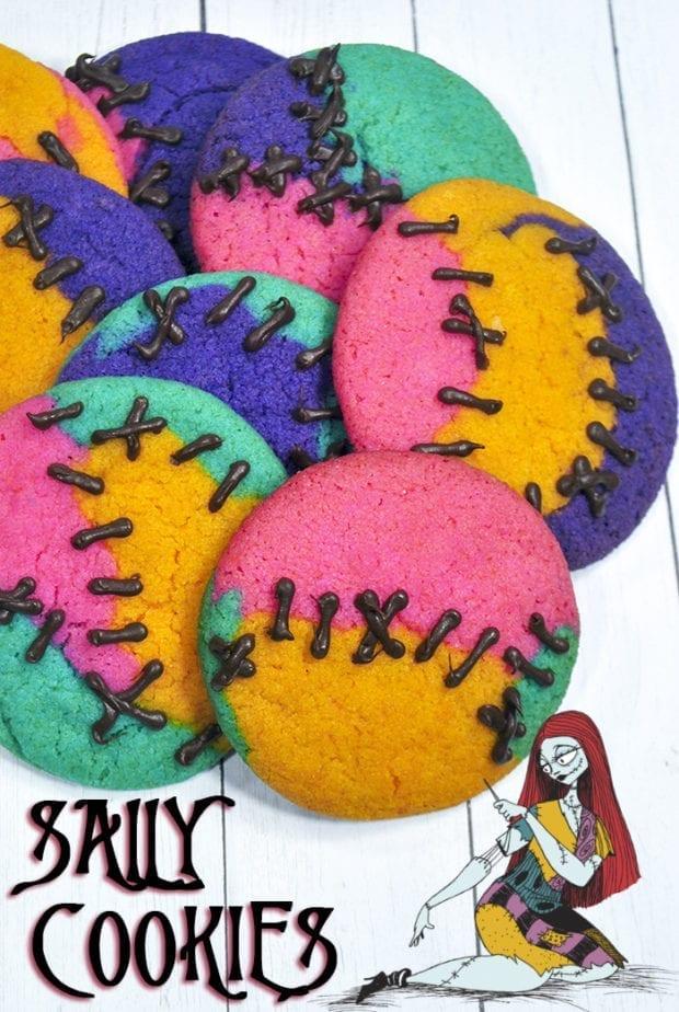Nightmare Before Christmas Sally Cookies