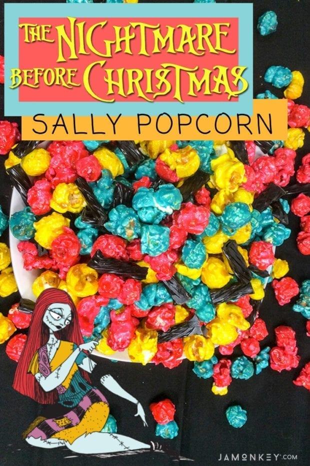 Nightmare Before Christmas Themed Sally Popcorn