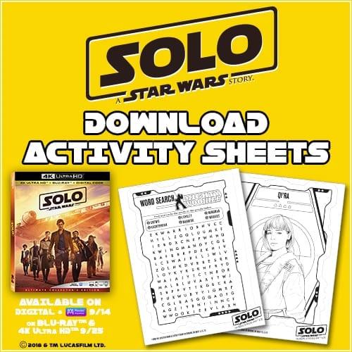 Solo Activity Sheets