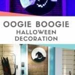 DIY Oogie Boogie Halloween Decoration