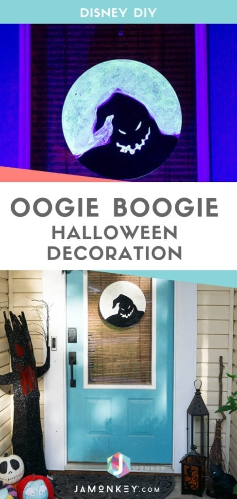 DIY Oogie Boogie Halloween Decoration