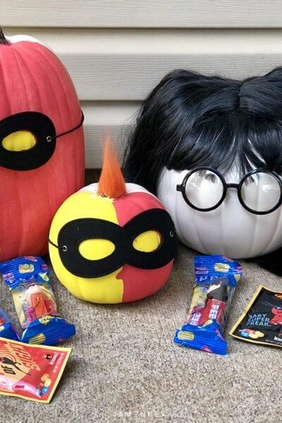DIY Incredibles Pumpkins