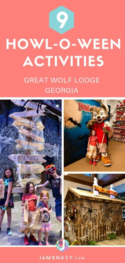9 Howl-O-Ween Activities at Great Wolf Lodge Georgia