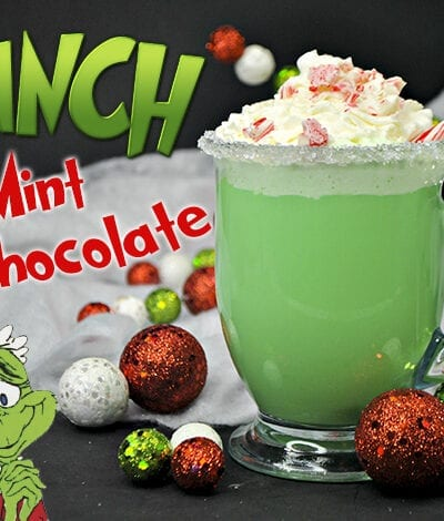 The Grinch Mint Hot Chocolate