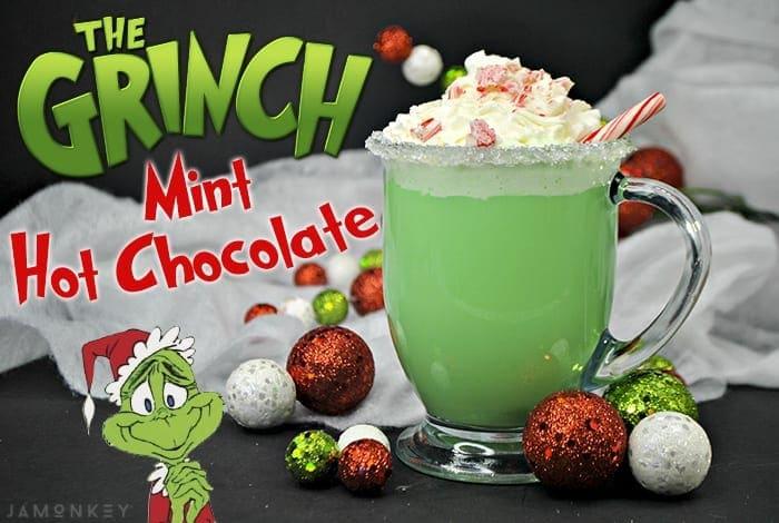 The Grinch Mint Hot Chocolate Jamonkey