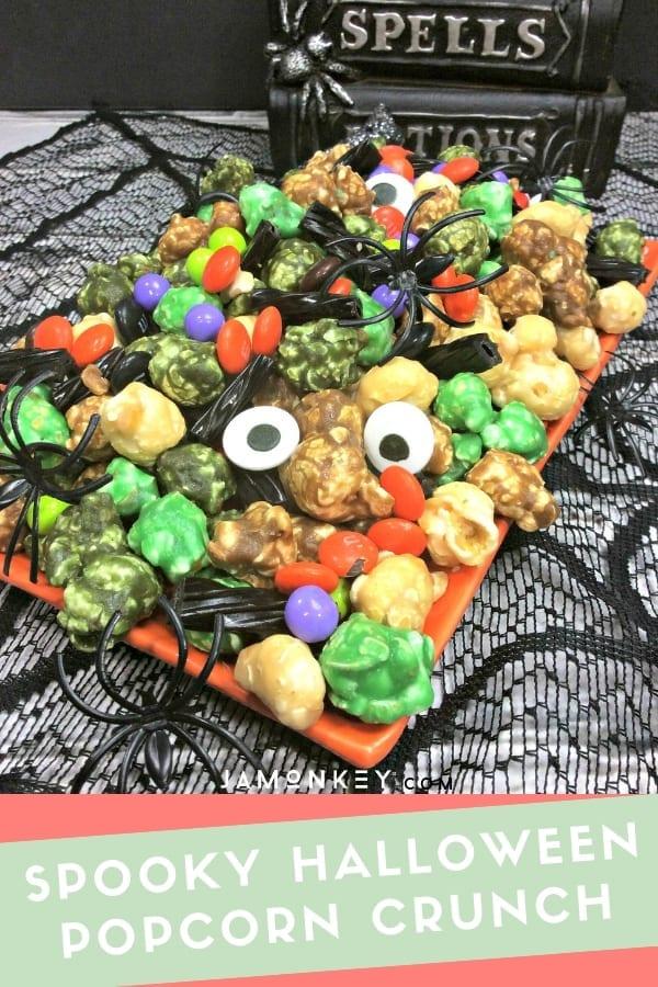 Spooky Halloween Popcorn Crunch