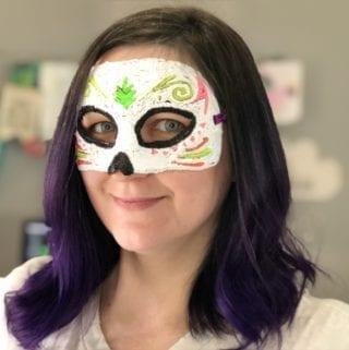3D Printed Sugar Skull – Hector Coco Mask