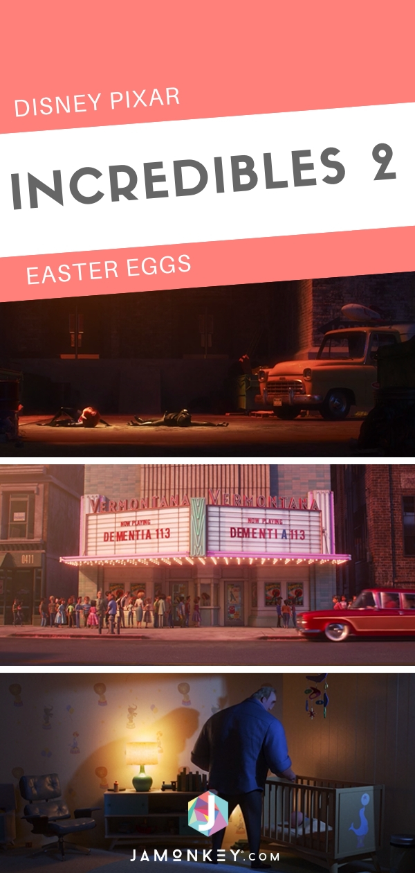 See All of Disney Pixar Incredibles 2 Easter Eggs and see which ones you missed!  #Incredibles2 #TheIncredibles  #DisneyPixar #EasterEggs