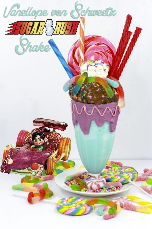 Vanellope von Schweetz Sugar Rush Extreme Shake