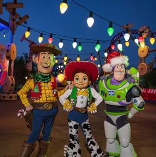 Toy Story Land Holiday Additions