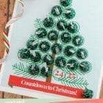 "Christmas Tree ""Countdown to Christmas"" Advent Calendar Printable"
