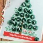 """Christmas Tree """"Countdown to Christmas"""" Advent Calendar Printable"""