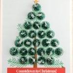Christmas Tree Advent Calendar