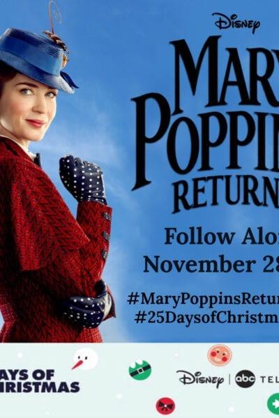 #MaryPoppinsReturnsEvent