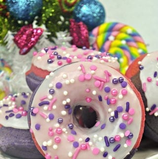 Sugar Plum Fairy Donuts