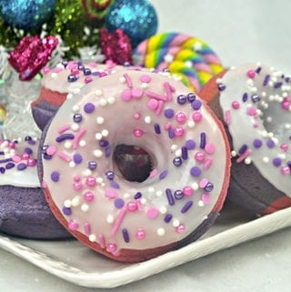 Sugar Plum Fairy Donuts