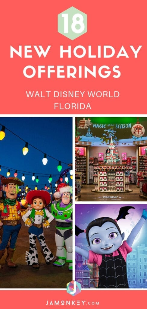 18 New Holiday Offerings at Walt Disney World