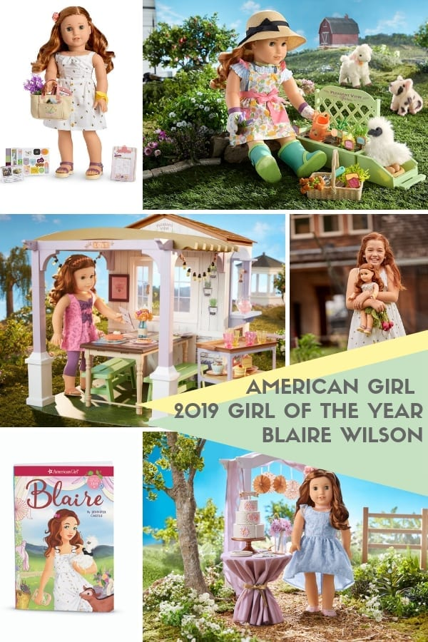 Meet Blaire Wilson the American Girl 2019 Girl of the Year. She loves cooking and working on her parent's farm.
