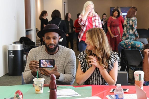 """Stephen """"tWitch"""" Boss and Allison Holker"""