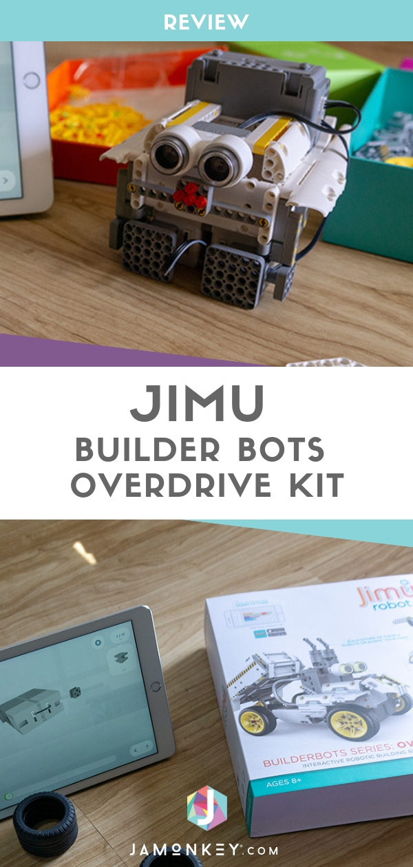 Build a Robot at Home - The New Family Puzzle JIMU Robot