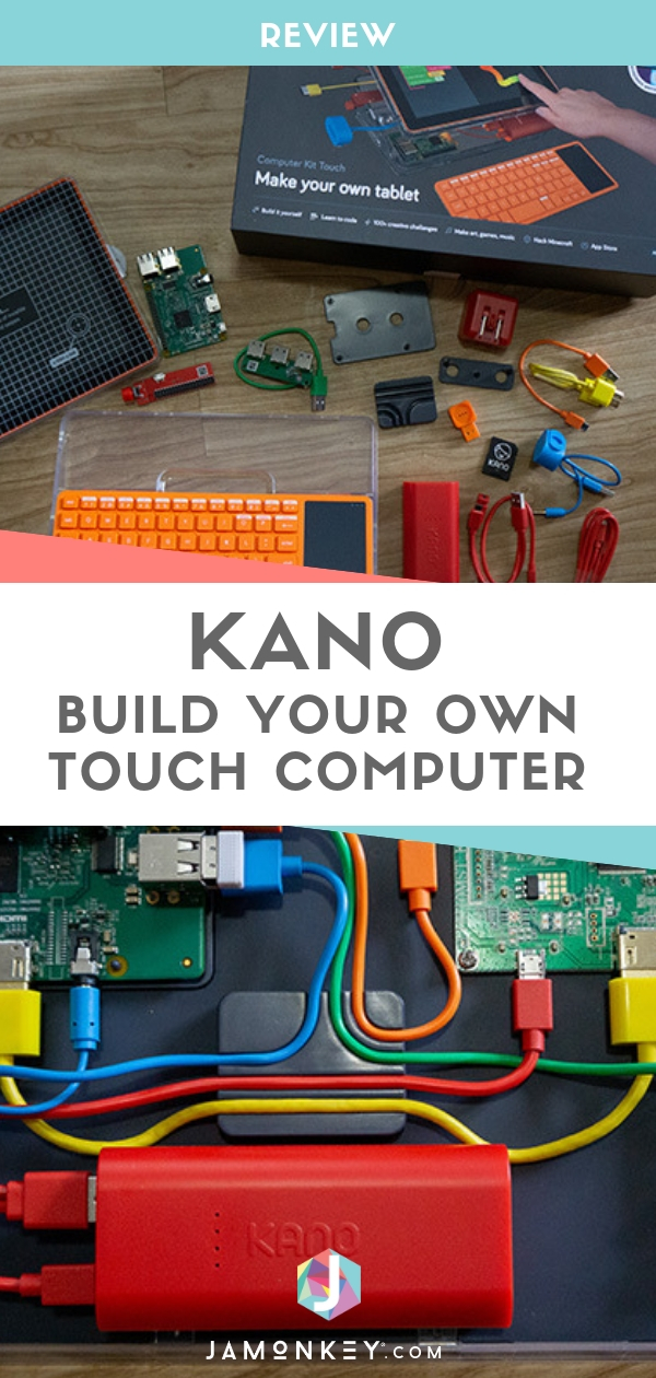 Build Your Own Touchscreen Computer - Kano Review