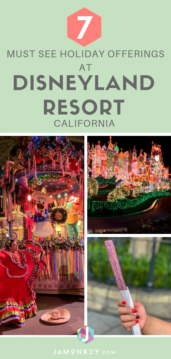 7 Must-See Holiday Offerings at Disneyland Resort that your family is going to love seeing.