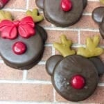 Reindeer Chocolate Dipped Oreos Cookies