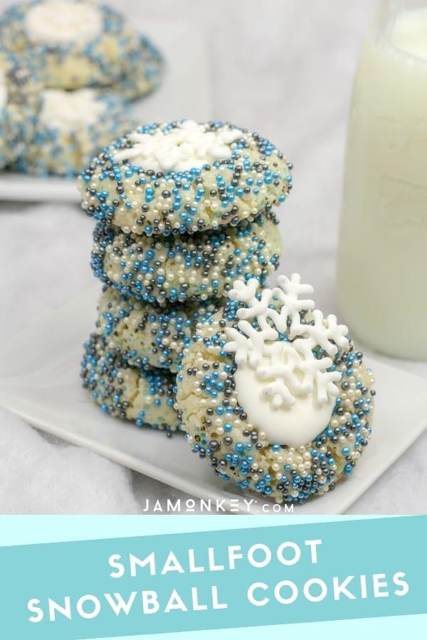 Smallfoot Snowball Cookies