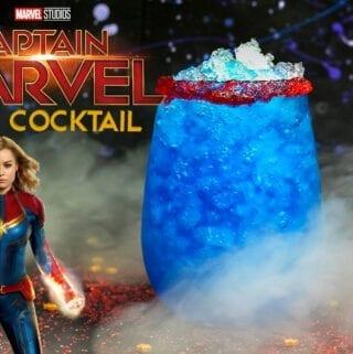 Captain Marvel Cocktail