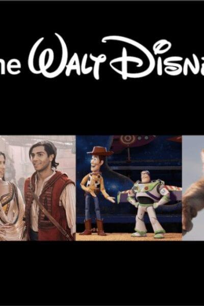 The Walt Disney Studios Movie Slate
