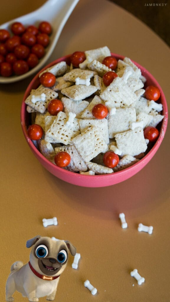 Rolly Puppy Chow