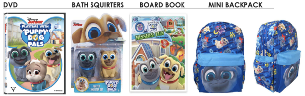 Puppy Dog Pals Prize Pack
