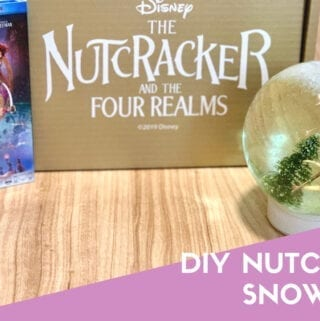 Nutcracker Snow Globe