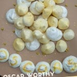 Gold Almond Meringues
